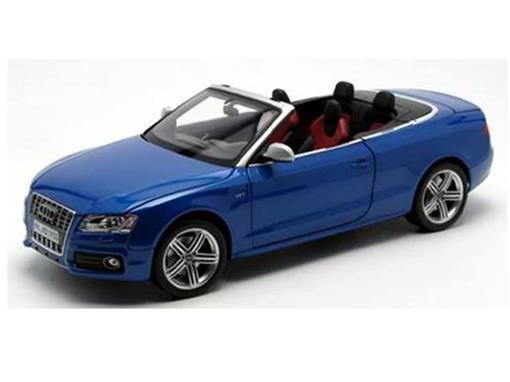Audi: S5 Cabriolet (2009) - Azul - 1:18