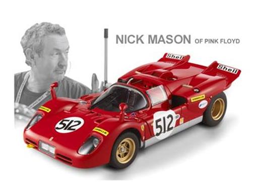 Ferrari: 512 S - Nick Mason - Pink Floyd - 1:18