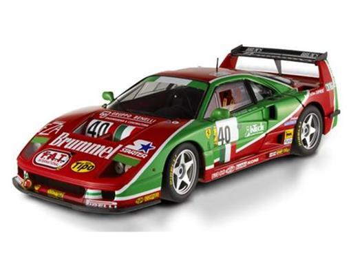 Ferrari: F40 Competizione #40 - (24 Hours Le Mans 1995) - 1:18