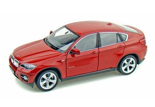 BMW: X6 - Vermelha - 1:24