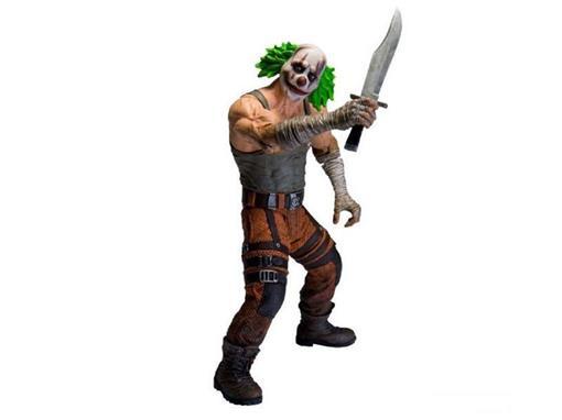 Boneco Clown Thug Verde - Arkham City - Series 3