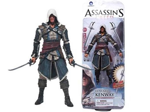 Boneco Edwrad Kenway - Assassin's Creed - S1 - McFarlane Toys