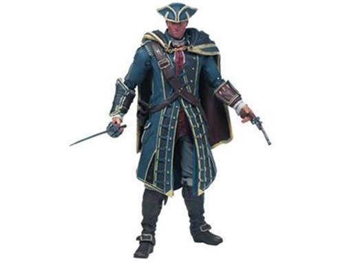 Boneco Haytham Kenway - Assassin's Creed - S1 - McFarlane