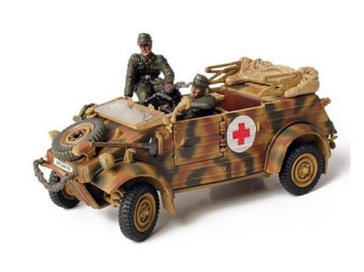 German Army: VW Kubelwagen Type 82 (Holland, 1944) - 1:32