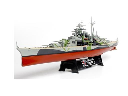 German Navy: Couraçado Tirpitz (Norway, 1943) - 1:700