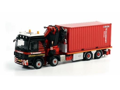 Mercedes Benz: Actros 4146 8x4 c/ Container -