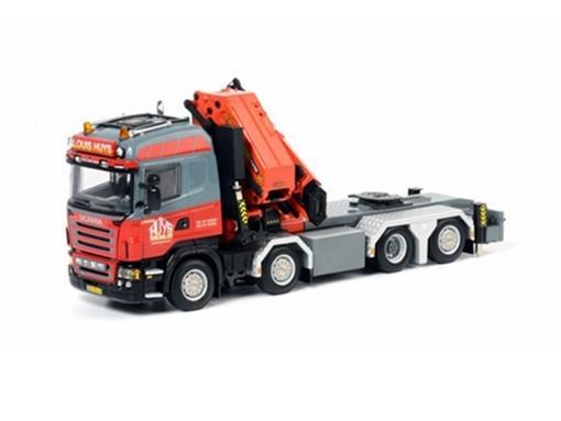 Scania: R(5) 8x4 Palfinger -