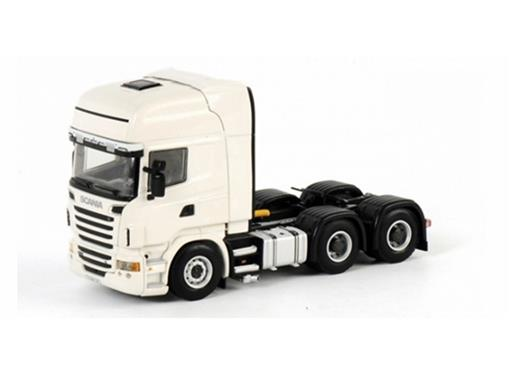 Scania: R(6) Topline 6x4 - Cavalo - Branco - 1:50