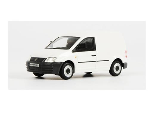 Volkswagen: Caddy - Branco - 1:50