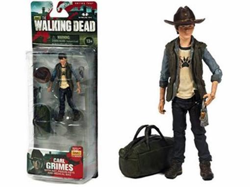 Boneco Carl Grimes - The Walking Dead - McFarlane Toys