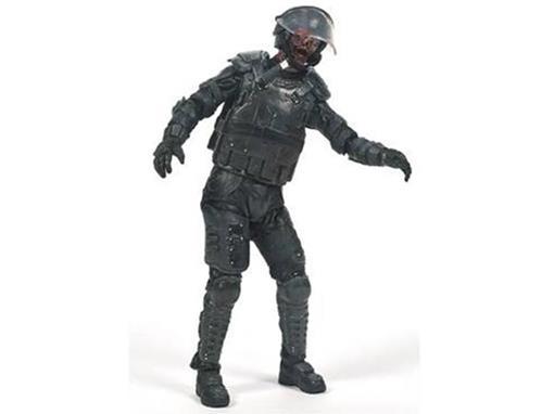 Boneco Riot Gear Zombie - The Walking Dead - McFarlane Toys