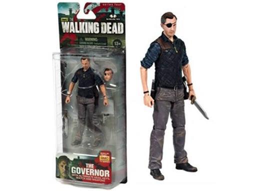 Boneco The Governor - The Walking Dead - McFarlane Toys