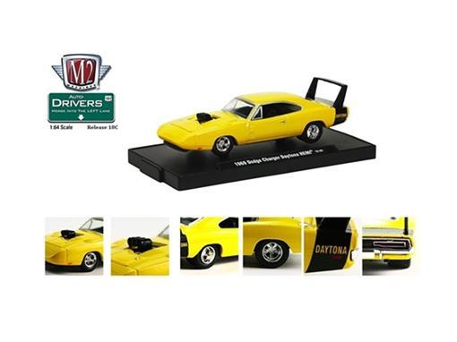 Dodge: Charger Daytona HEMI (1969) - Auto Drivers - 1:64
