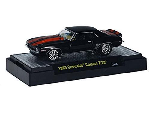 Chevrolet: Camaro Z/28 (1969) - Detroit-Cruisers - Preto - 1:64