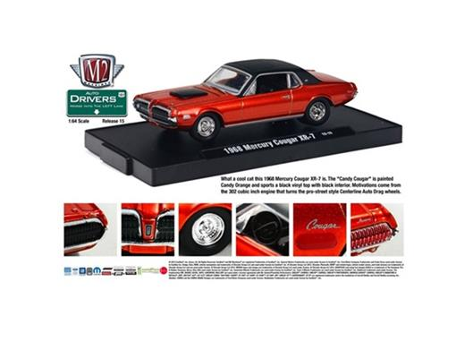 Ford: Mercury Cougar XR-7 (1968) - 1:64