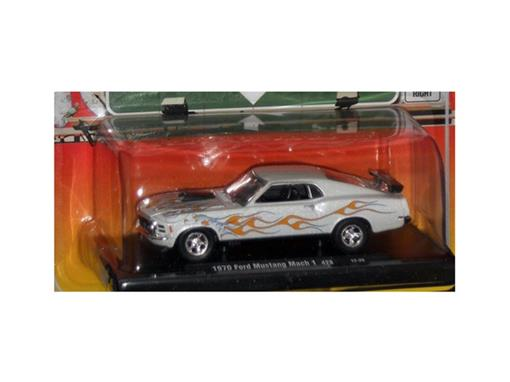 Ford: Mustang Mach 1 428 (1970) - Branco - Auto Drivers - 1:64