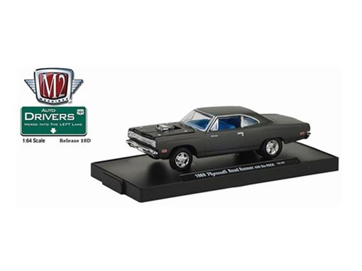 Plymouth: Road Runner 440 Six-PACK (1969) - Auto Drivers - 1:64