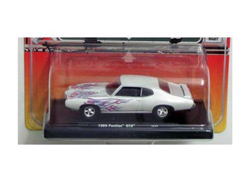 Pontiac: GTO (1969) - Branco - Auto Drivers - 1:64