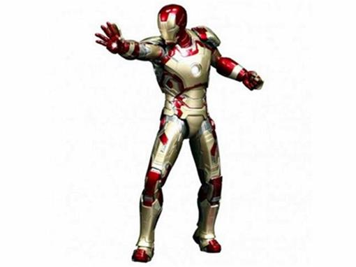 Estátua Iron Man Mark XLII Power Pose - Hot Toys - 1:6