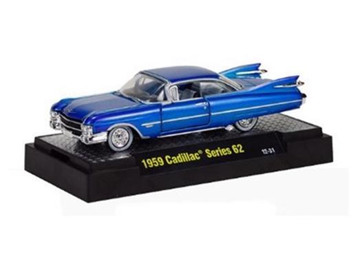 Cadillac: Series 62 (1959) - Azul - Detroit Cruisers - 1:64