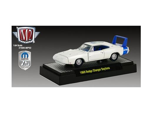 Dodge: Charger Daytona (1969) - Branco - Auto Dreams - 1:64