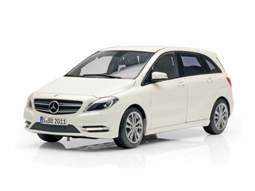 Mercedes Benz: 180 B-Class (2011) - Branca - 1:18