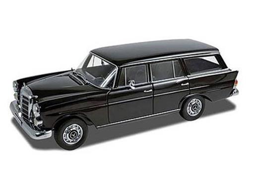 Mercedes Benz: 200 Universal (1968) - Preto - 1:18