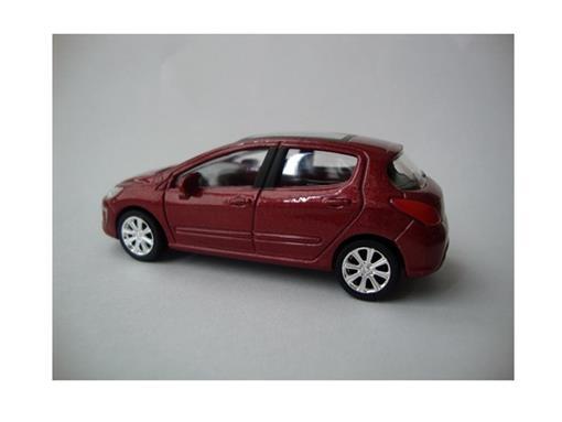 Peugeot: 308 Berline - 2 Portas - Vermelho - 1:64