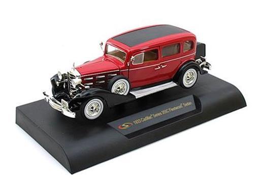 Cadillac: Fleetwood Phaeton (1933) - Vermelho - 1:32