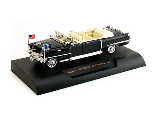 Cadillac: U.S. Presidential Limousine (1956) - Preto - 1:32
