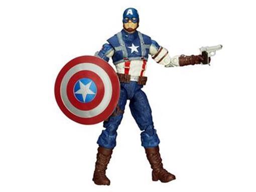 Boneco Capitão América WW2 - Marvel Legends - Hasbro