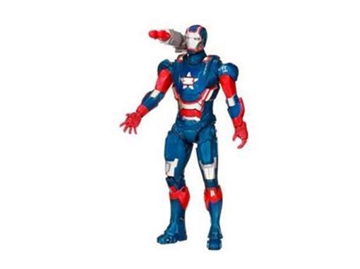 Boneco Marvel Iron Man 3 - Iron Patriot - Arc Strike - Hasbro