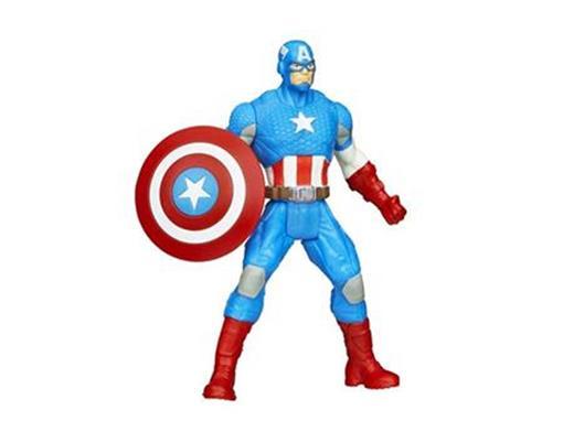 Boneco Capitão América - Avengers A. - 3.75
