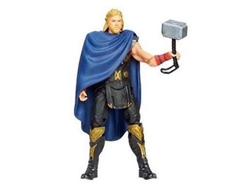 Boneco Thor Battle Hammer - Thor The Dark Wolrd - 3.75