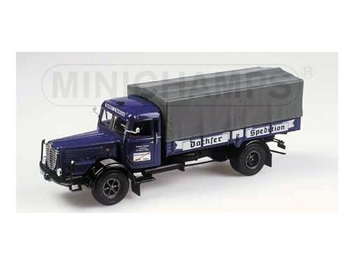 Buessing: 8000 S - Canvas Truck Dachser - 1:43