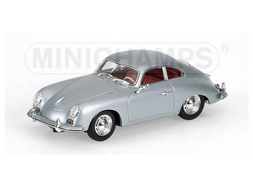 Porsche: 356 Stuttgart (1954) - Prata - 1:43