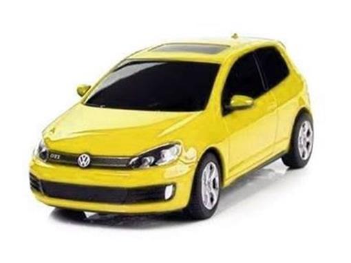 Volkswagen: Golf GTI - Amarelo - Controle Remoto - 1:24