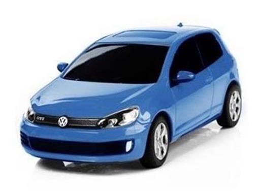 Volkswagen: Golf GTI - Azul - Controle Remoto - 1:24