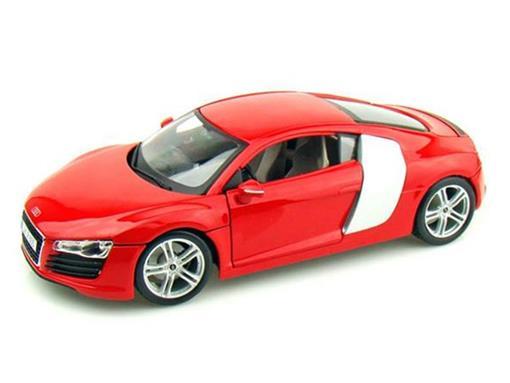 Audi: R8 - Vermelho - 1:18 - Maisto