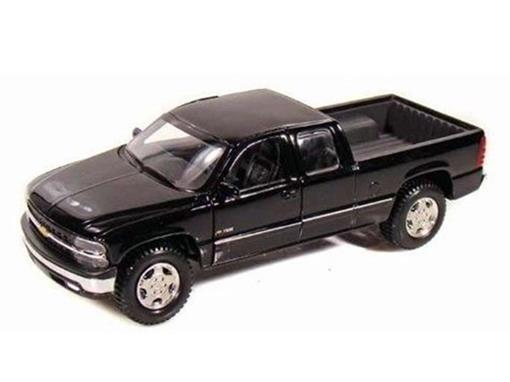 Chevrolet: Silverado Pickup - Preta - 1:27