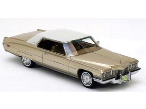 Cadillac: Coupe de Ville - Dourado - 1:43