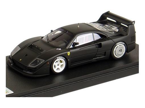 Ferrari: F40 LM - Test Car - Preto Fosco - 1:43