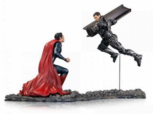 Estátua Superman vs Zod (Man of Steel) DC Collectibles - 1:12