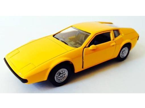 Miura: Coupe (1990) - Amarelo - 11 cm