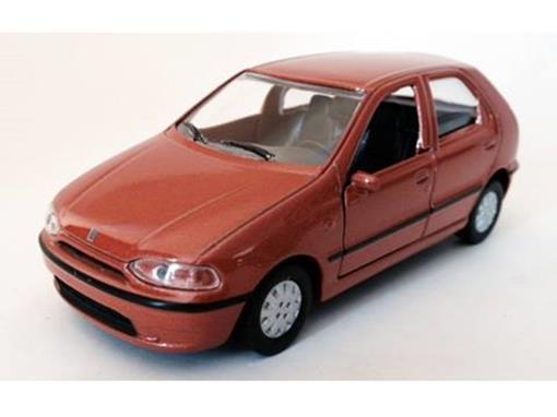 Fiat: Palio I (1995) - Laranja Metálico - 11 cm