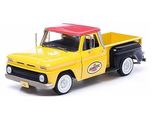 Chevrolet: C-10 Stepside (1965) Pennzoil - Pickup - Amarela - 1:18