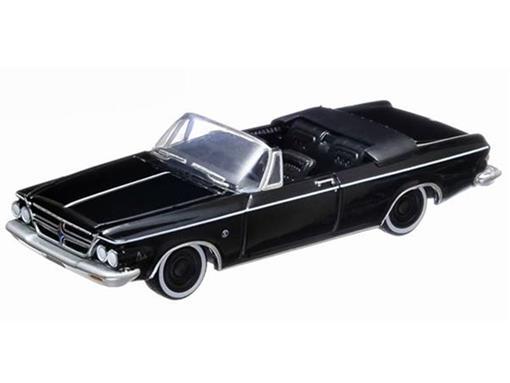Chrysler: 300 K (1963) - Black Bandit - Série 8 - 1:64