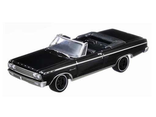 Dodge: Coronet 500 (1965) - Black Bandit - Série 8 - 1:64