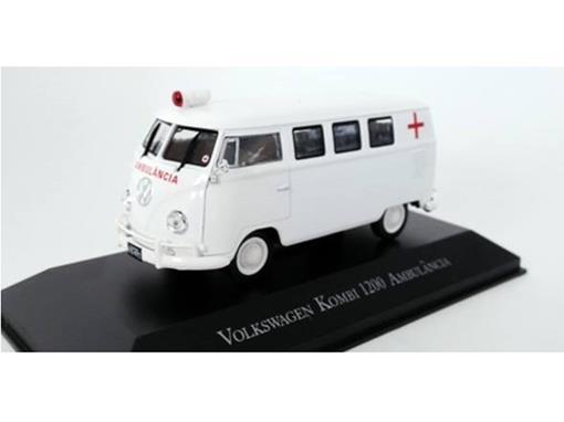 Volkswagen: Kombi 1200 Ambulância - Branca - 1:43