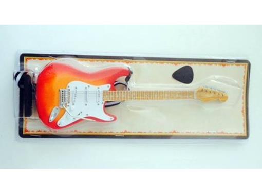 Miniatura de Guitarra Strato Vogga - Cereja (Blister) - 1:4